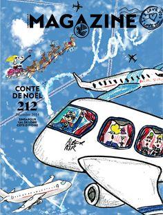 Air France Magazine - n°212 - Christmas tale - Janurary 2014