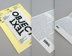 """Check out new work on my @Behance portfolio: """"Text and Object"""" http://be.net/gallery/54778391/Text-and-Object"""