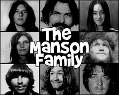 The Manson family!
