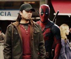 Just imagine Deadpool in Captain America Civil War  #art #buckybarnes #deadpool #captainamerica #civilwar #photoshop #imagine