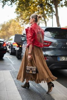 See all the most covetable street style looks from Paris Fashion Week. #WomensFashion
