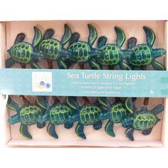 Light up the night with adorable electric sea turtle string lights to enhance your sea theme party decor. Turtle Birthday Parties, Turtle Party, Luau Birthday, Ocean Themes, Beach Themes, Turtle Classroom, Baby Sea Turtles, Sea Turtle Nursery, Sea Turtle Decor