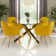 Inject some colour into your dining ✨⠀ ⠀ Available in yellow, pink, green or navy! Which colour will you choose? Dinning Table Centerpiece, Simple Dining Table, Dinning Room Tables, Furniture Dining Table, Blue Furniture, Table And Chairs, Dining Chairs, Love Your Home, Table Dimensions