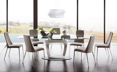 ETOILE upholstered and covered metal chair - Calligaris CS/1424-EV