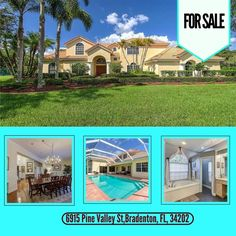 This is House is now FOR SALE! 6915 Pine Valley St, Bradenton, FL, 34202. View details here: http://www.insarasotarealestate.com/listing/a4189507-6915-pine-valley-st-bradenton-fl-34202/ ❤ #floridarealtor #floridarealestate #Sarasotarealestate #Venicerealestate