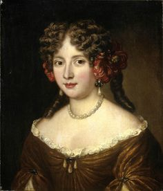 Jacob Ferdinand Voet - Portrait of a lady in a Pearl necklace