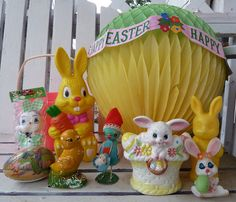 Vintage Easter Thrift Store Finds by MissConduct*, via Flickr