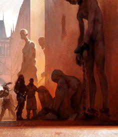ArtStation - The market, Jakob Eirich
