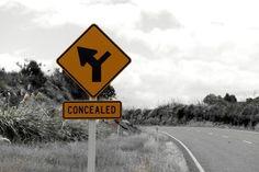 'Road sign - New Zealand' von stephiii bei artflakes.com als Poster oder Kunstdruck $15.68