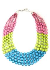 Bead Keeper Necklace in Tropical