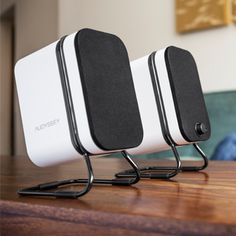 Audyssey Wireless Speakers - Looks like a nice set of bluetooth speakers, though I'm a little unsure if the $300 price point is justified?