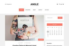 Angle - Blog WordPress Theme by codeex on @creativemarket (promoted)