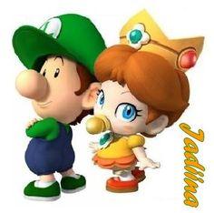 Baby Luigi And Baby Daisy