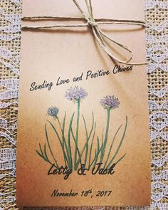 Herb Seed Favors 25 Wedding The Perfect Favor For Boho Spirit