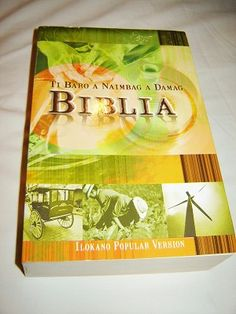 Books Must Read Ilokano Bible PV / Ti Baro A Naimbag A Damag Biblia / Large Paperback / New Ilokano Popular Version Bible 050 with Thumb Index / Philippines, Author : Bible Society