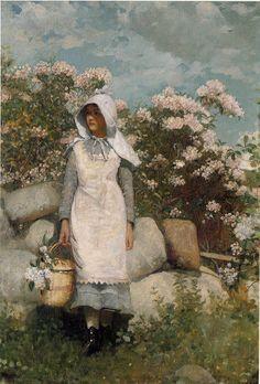 Winslow Homer: Girl and Laurel