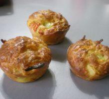 Recette - Muffins aux petits légumes - Notée 4.1/5 par les internautes