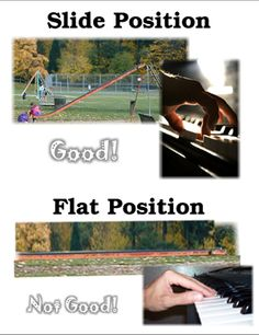 Slide Position for the Thumb--helping kids with correct hand position at the piano