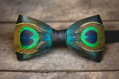 Hugo by Brackish. #peacock #featherbowtie