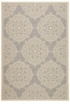 """Cleo Area Rug - Outdoor Rugs - Machine-made Rugs - Synthetic Rugs - Transitional Rugs 