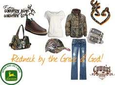 """""""Redneck Girl"""" by lacy-bilderback ❤ liked on Polyvore"""