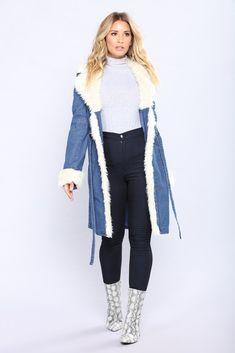 On Demand Denim Jacket - Blue