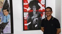 Exposição Neil Gaiman em Manaus | Pipoca e Nanquim