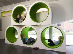 Ordrup school in Denmark.