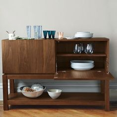 """Small Island 16""""D or two back to back 33.5""""D, west elm"""
