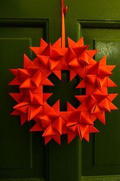 Origami für Weihnachten - 9 Weihnachtsstern Faltanleitungen