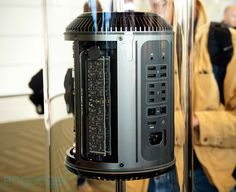 Next-generation Apple Mac Pro eyes-on at WWDC 2013