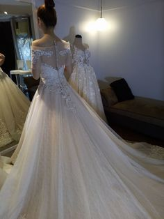 Tyrone An Couture Bridal Gowns, Wedding Gowns, Lace Wedding, Debut Gowns, Wedding Fair, Prom Dresses, Couture, Design, Fashion