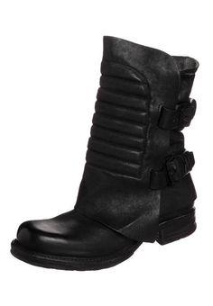 A.S.98 - SAINTMETAL - Cowboylaarsjes / Motorlaarsjes - Zwart