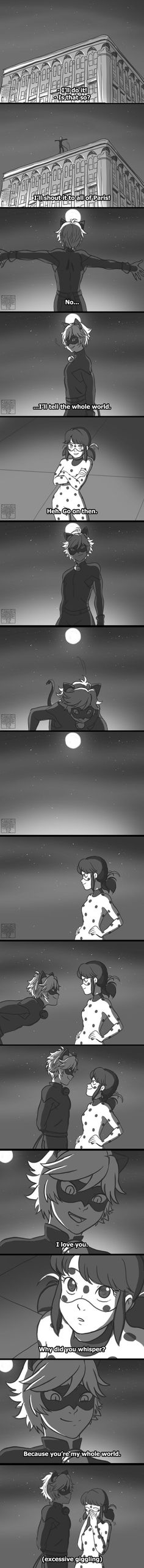 (Miraculous: Tales of Ladybug and Chat Noir) Chat Noir/Ladybug Ladybug E Catnoir, Comics Ladybug, Ladybug Und Cat Noir, Lady Bug, Les Miraculous, Photo Manga, Catty Noir, Adrien Agreste, When Things Go Wrong
