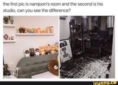 That's be cause Namjoon and Rapmonster are 2 different people