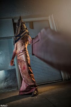 Pyramid Head, Denver Comic Con 2014...I would poop my pants right there