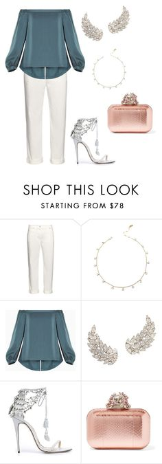 """Circles"" by didiiidia on Polyvore featuring Balenciaga, BCBGMAXAZRIA, Marchesa and Jimmy Choo"