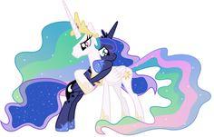 Luna and Celestia reunited