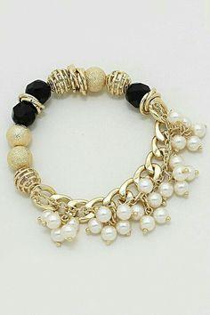 Jewelry Making Bracelets Amberly Bracelet on Emma Stine Limited - women's jewelry, cool womens jewelry, cheap womens fashion jewelry - Fashion Jewelry Necklaces, Fashion Bracelets, Wire Jewelry, Jewelry Crafts, Beaded Jewelry, Jewelry Box, Jewelry Bracelets, Jewelry Accessories, Handmade Jewelry