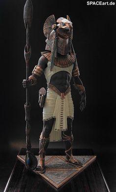Stargate: Horus - Deluxe, Modell-Bausatz ... http://spaceart.de/produkte/sg005.php