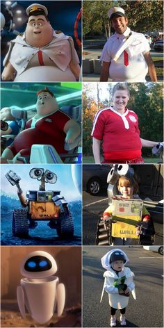 Put Up Your Dukes: Wall-E-Ween: Homemade DIY Group Wall-E Costumes