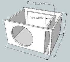hasil gambar untuk subwoofer box design for 12 inch audiophile pinterest. Black Bedroom Furniture Sets. Home Design Ideas