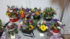 Planter Pots, Floral Wreath, Boxes, Wreaths, Home Decor, Floral Crown, Crates, Decoration Home, Door Wreaths
