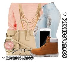 Something Sweet! by royaldopeness on Polyvore featuring polyvore fashion style Boohoo Timberland Yves Saint Laurent Forever 21 Michael Kors Squair women's clothing women's fashion women female woman misses juniors GetTheLook simpleoutfit MyStyle 2015 royal_dopeness