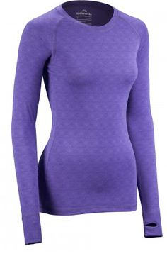 Pick out a colourful UltraCORE Women's Long Sleeve Thermal Top from Kathmandu for Mum this Winter -  $69.98