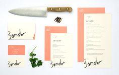 Bondir Restaurant Menu Design via Oat