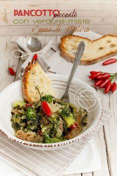 Fiordirosmarino: Pancotto piccante con verdure miste e pane di Matera