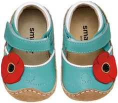Smaller Kohyn via See Kai Run   Best first walking shoes ever!  Cuter in person! $34.00