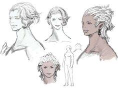 Roegadyn Female from Final Fantasy XIV: A Realm Reborn