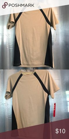 Gray and blue athletic shirt slim fit NWT ALFANI RED SLIM FIT GRAY AND BLUE Alfani Shirts Tees - Short Sleeve